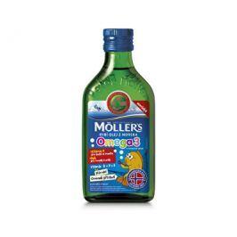 Möller´s Möller`s rybí olej z tresčích jater z Norska s přírodní ovocnou příchutí 250 ml