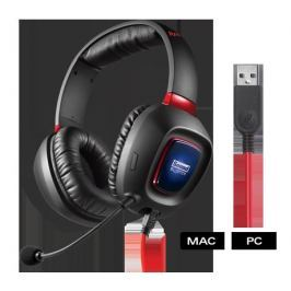 CREATIVE LABS CREATIVE Tactic3D RAGE USB V2 sluchátka s mikrofonem, pro hráče, pro PC / MAC /