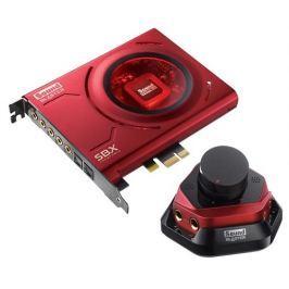 CREATIVE LABS Creative Sound Blaster ZX, zvuková karta 5.1 (PCIe), 24bit, Audio control modul