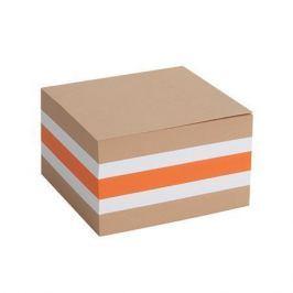 NO NAME Poznámkový blok, 85x85 mm, barevný