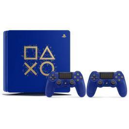 Sony Herní konzole  PlayStation 4 SLIM 500GB + DS4 limitovaná edice Days of Play