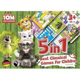 MOS Servis Talking Tom a přátelé/5v1 - Nejlepší klasické hry pro děti