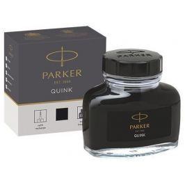 PARKER Inkoust Quink, černá, v lahvičce,