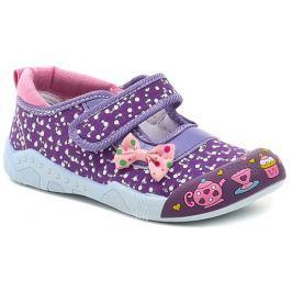 Cortina.be Slobby 43-0033-S1 fialová letní dívčí obuv, 27