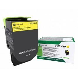 Lexmark CS/CX41/51x Yellow Toner Cartridge High Return - 3 500 stran