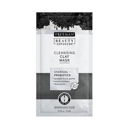 Freeman Čisticí jílová maska Aktivní uhlí a probiotika Beauty Infusion (Cleansing Clay Mask) 15 ml