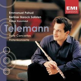 CD Telemann - Pahud / Flute Concertos