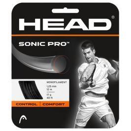 Head Tenisový výplet  Sonic Pro Black 1.30 mm (12 m), 1,30 mm
