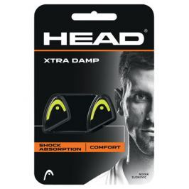 Head Vibrastop  Xtra Damp Black/Yellow (2ks)