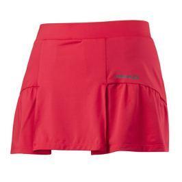 Head Dívčí sukně  Club Basic Skort Red, 140 cm