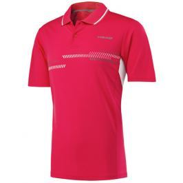 Head Pánské tričko  Club Technical Polo Red, M