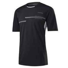 Head Dětské tričko  Club Technical Black, 140 cm