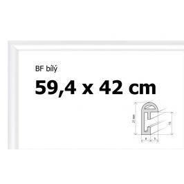 BFHM Bílý plastový rám na puzzle 42 x 59,4 cm, formát A2
