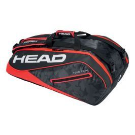 Head Taška na rakety  Tour Team Supercombi 9R Black/Red