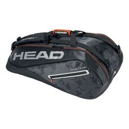 Head Taška na rakety  Tour Team Supercombi 9R Black/Silver