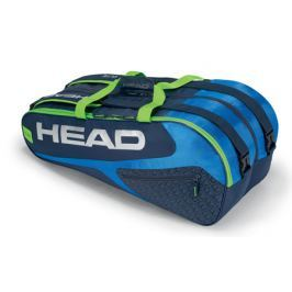 Head Taška na rakety  Elite Supercombi 9R Blue/Green
