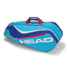 Head Juniorská taška na rakety  Junior Combi Light Blue