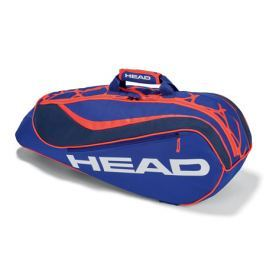 Head Juniorská taška na rakety  Junior Combi Blue/Orange
