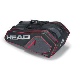 Head Taška na rakety  Core Supercombi 9R Black/Silver