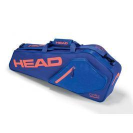 Head Taška na rakety  Core Pro 3R Blue/Salmon