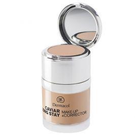 Dermacol Dlouhotrvající make-up s výtažky z kaviáru a zdokonalovací korektor (Caviar Long Stay Make-