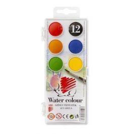 ICO Vodové barvy, 12 pieces, 22,5 mm,  Ježek
