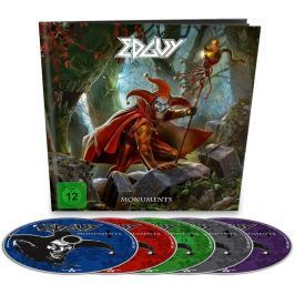 CD Edguy : Monuments (Earbook)