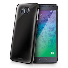 Celly Kryt na mobil  Gelskin pro Samsung Galaxy Alpha, kouřově černý