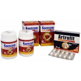 Dacom Pharma Koenzym Q10 s hořčíkem DUO 2x60 tob., Artrofit 10 tob