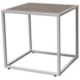 Tempo Kondela Příruční stolek, dub / bílá, JAKIM TYP 2