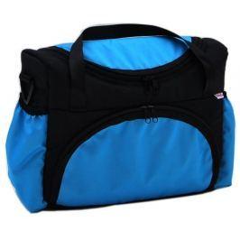 taška na pleny S2 černá + modrá