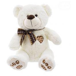 EURO BABY Plyšový medvídek 43cm - bílo/smetanový
