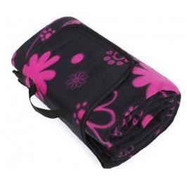 Albi Designová deka na piknik s květy