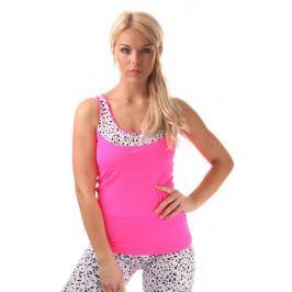 Nordblanc LYNX dámský fitness top, 38, Růžová