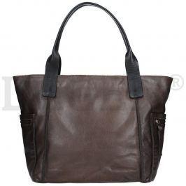 Lagen 21046 šedá dámská kožená kabelka