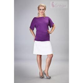 Dovoz EU Elegantní těhotenská sukně MINGA - bílá, S