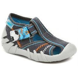 Befado 190P079 modré dětské sandálky, 18