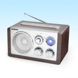Orava Retro rádio s USB, SD RR-29 A