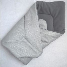 Elfan multifunkční rychlozavinovačka fleece -  silver + šedá
