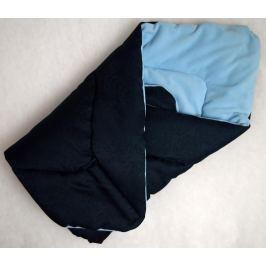 Elfan multifunkční rychlozavinovačka fleece -  královská modrá + modrá