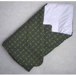 Elfan multifunkční rychlozavinovačka bavlna - zelené křížky