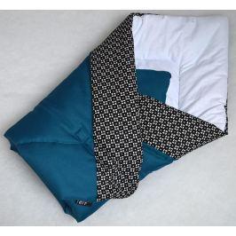 Elfan multifunkční rychlozavinovačka bavlna - indigo