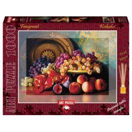 ART PUZZLE Vonící puzzle Ovocná mísa 1000 dílků
