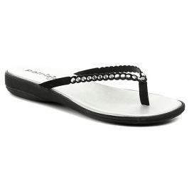 Patrizia Azzi 4120 černo stříbrné dámské nazouváky, 36