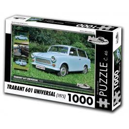 RETRO-AUTA Puzzle č. 46 Trabant 601 Universal (1975) 1000 dílků