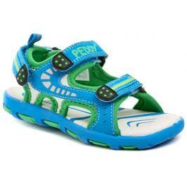 Peddy PU-612-37-12 modré dětské sandály, 24