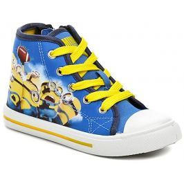 Minions DE002233 modro žluté plátěné tenisky, 27