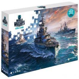 Puzzle World of Warships: Lodě připraveny k bitvě 1000 dílků