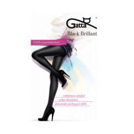 Gatta Černé dámské punčochové kalhoty Black Brillant Nero, 3