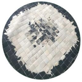 Tempo Kondela Luxusní koberec, kůže, typ patchworku, 150x150 cm, KOBEREC KOŽA typ9